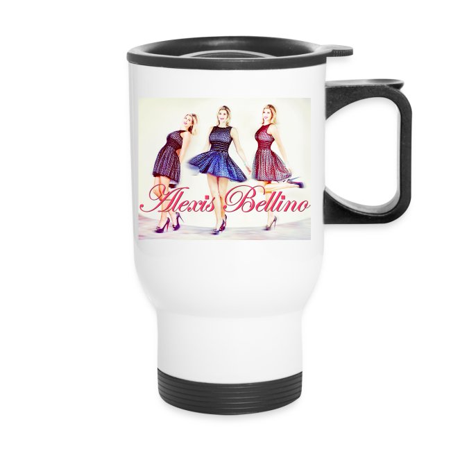 Trio Coffee Tumbler by Alexis Bellino
