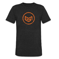 T-Shirts ~ Unisex Tri-Blend T-Shirt ~ MadGlory Distorted Logo