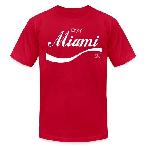 Men: Enjoy Miami - Men's Fine Jersey T-Shirt