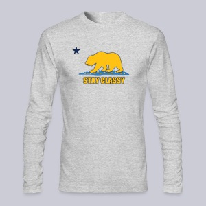 Stay Classy Bear - Men's Long Sleeve T-Shirt by Next Level