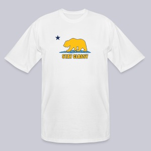 Stay Classy Bear - Men's Tall T-Shirt