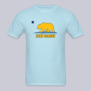 Stay Classy Bear - Men's T-Shirt