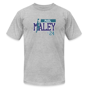 Paul Maley hashtag - Men's T-Shirt by American Apparel