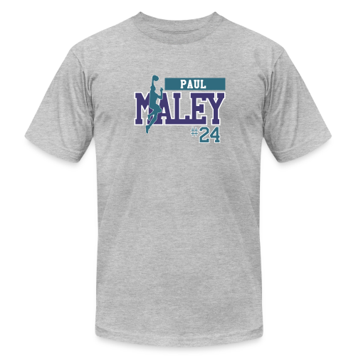 Paul Maley hashtag - Men's Fine Jersey T-Shirt