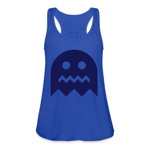 Pac-Man Ghost - Women's Flowy Tank Top by Bella