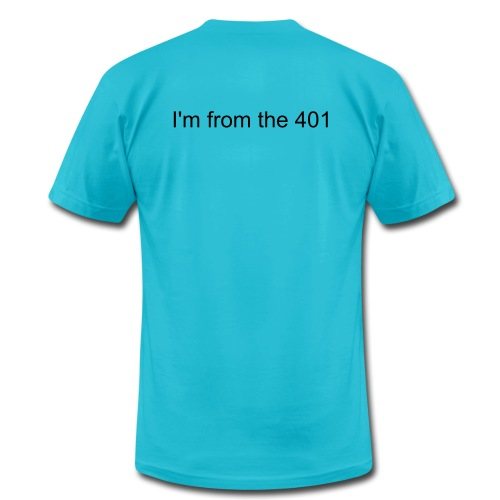 Mens I'm from the 401 tshirt - Men's Fine Jersey T-Shirt