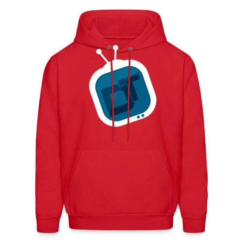 Men's tv logo hoodie - Men's Hoodie
