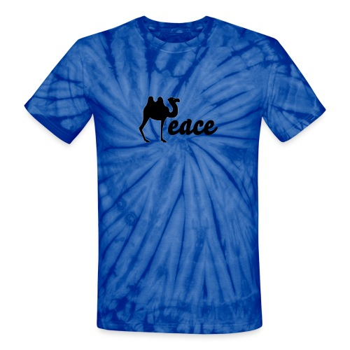 Peace in the Middle East - UNISEX BLUE - Unisex Tie Dye T-Shirt