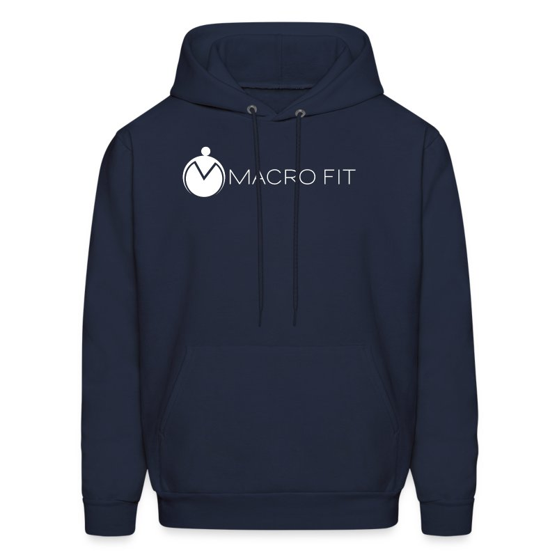 Men's Hoodie - macros,macro fit,iifym,flexible dieting