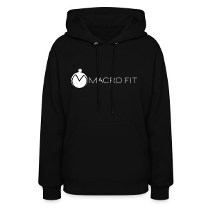 Women's Hoodie - macros,macro fit,iifym,flexible dieting