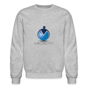 Crewneck Sweatshirt - macros,macro fit,iifym,flexible dieting