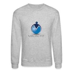 Crewneck Sweatshirt - macros,macro fit,iifym,flexible dieting