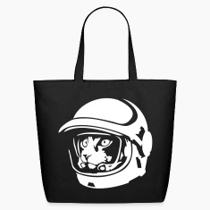 Space cat astronaut