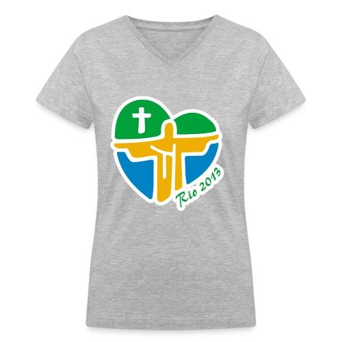 World Youth Day 2013 - Women's V-Neck T-Shirt