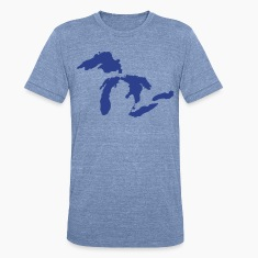 Michigan Down with Detroit T-Shirts