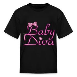 Baby Diva (girls shirt) - Kids' T-Shirt