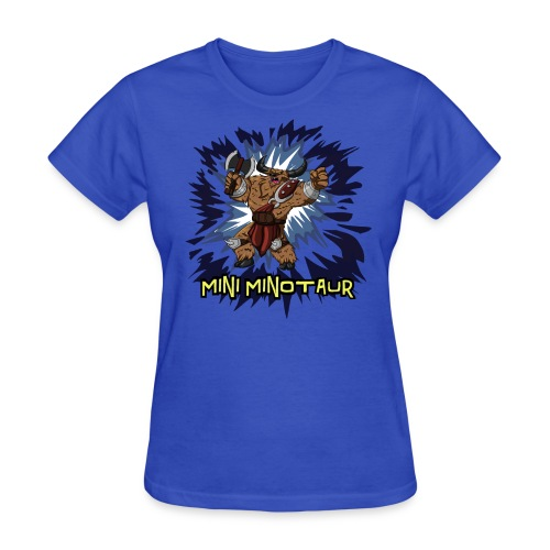Mini Minotaur  - Women's T-Shirt