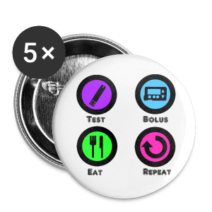 Test Bolus Eat Repeat - Large Buttons