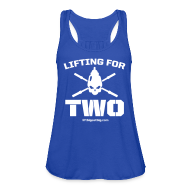 Tanks ~ Women's Flowy Tank Top by Bella ~ Lifting For Two