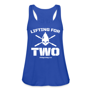 Lifting For Two - Women's Flowy Tank Top by Bella