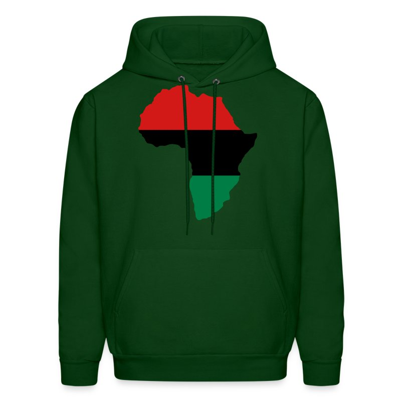 Red, Black & Green Africa Flag Hoodie | Spreadshirt
