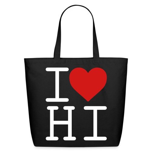 I Heart Hi - Eco-Friendly Cotton Tote