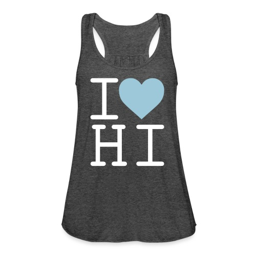 I Heart Hi - Women's Flowy Tank Top by Bella