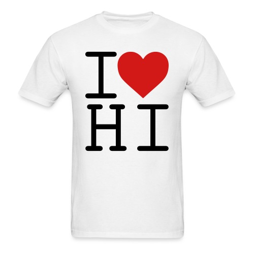 I Heart Hi - Men's T-Shirt