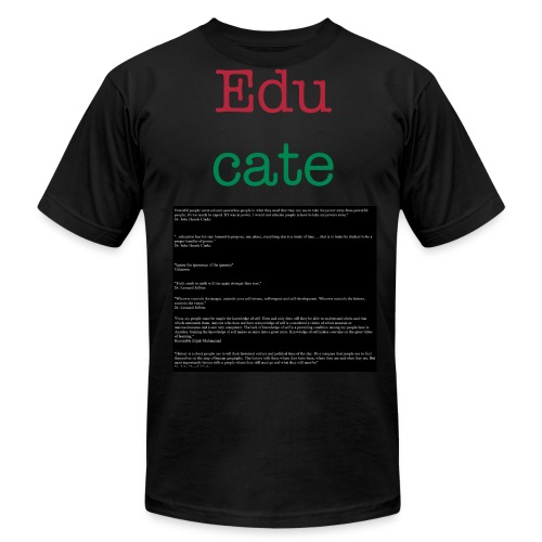 educate - Men's Fine Jersey T-Shirt