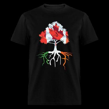 Canada Irish Roots Irish Celtic Apparel T-Shirts