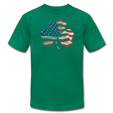 USA Shamrock Irish Celtic Apparel  T-Shirts