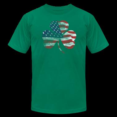 USA Shamrock Irish Celtic Apparel  T-Shirts