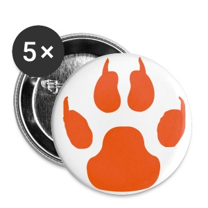 Dog Paw - Large Buttons