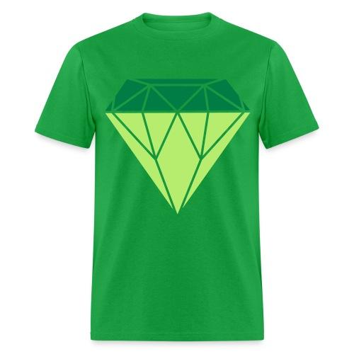 Big Jewel Tee (Green) - Men's T-Shirt