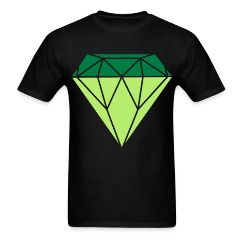 Big Jewel Tee (Black) - Men's T-Shirt