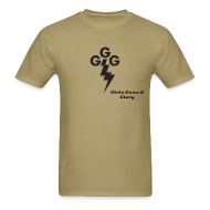 T-Shirts ~ Men's T-Shirt ~ Men's Standard Weight -GGG Taking Care of Business logo