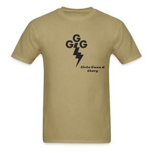 Men's Standard Weight -GGG Taking Care of Business logo - Men's T-Shirt