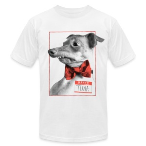 Hello. I will melt your heart. TUNA - Men's T-Shirt by American Apparel