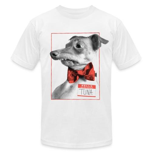 Hello. I will melt your heart. TUNA - Men's Fine Jersey T-Shirt