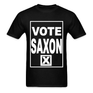 T-Shirts ~ Men's T-Shirt ~ VOTE SAXON - Men's