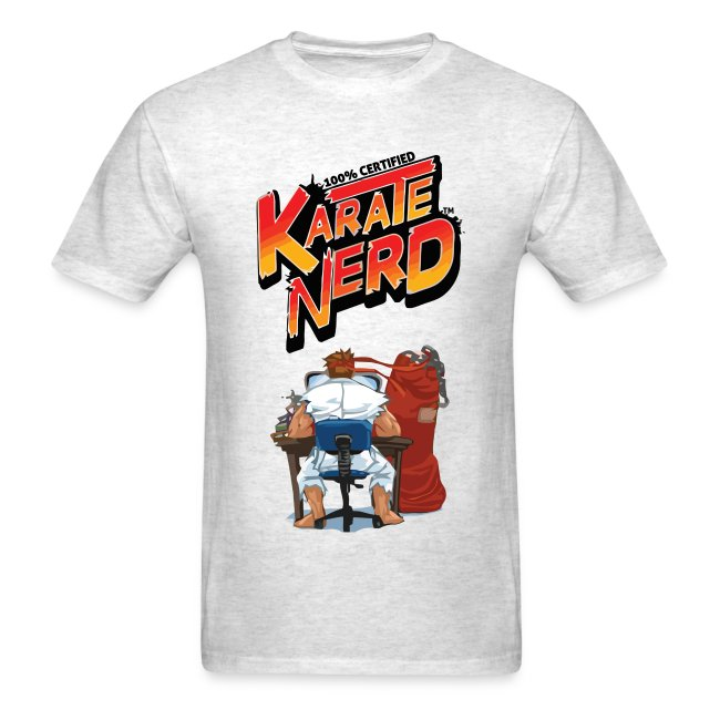 5b93a3ba758 The Offical Karate Nerd™ T-Shirt (Men s)