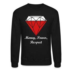 Team TKO Money, Power, Respect Sweatshirt #2 - Crewneck Sweatshirt