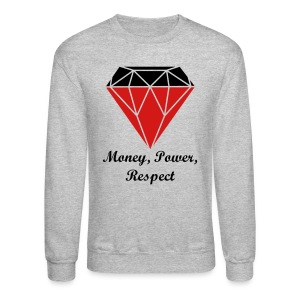 Team TKO Money, Power, Respect Sweatshirt - Crewneck Sweatshirt