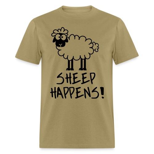 Sheep Happens - Men's T-Shirt