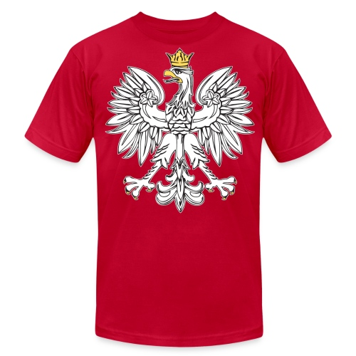 Mens Polish Bird T - Men's Fine Jersey T-Shirt