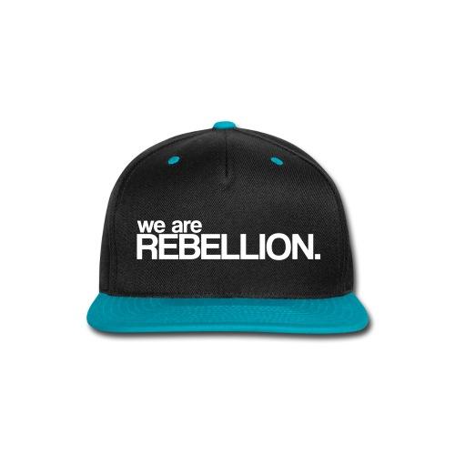 Rebellion Snapback - Snap-back Baseball Cap