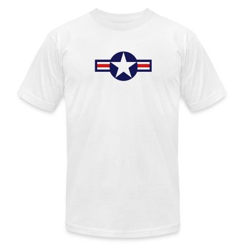 t-shirt usaf star - Men's  Jersey T-Shirt