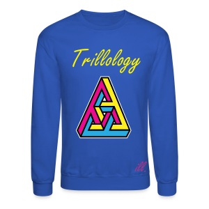 Trillology Puzzle Men's Sweater - Crewneck Sweatshirt