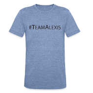 T-Shirts ~ Unisex Tri-Blend T-Shirt ~ Team Alexis Men's T-Shirt by Alexis Bellino