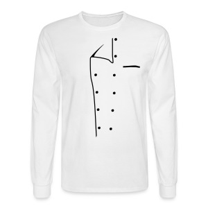Chef Jacket - Men's Long Sleeve T-Shirt